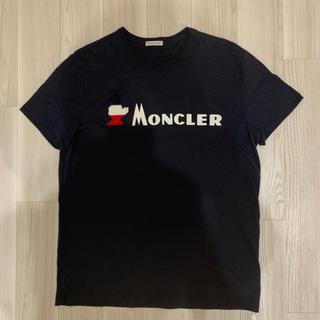 MONCLER - [新品同様]モンクレール ロゴTシャツ ダークネイビー L