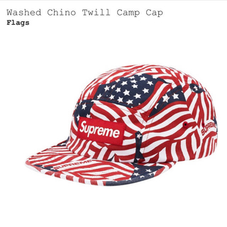 Supreme - supreme Washed Chino Twill Camp Cap
