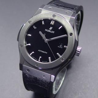 ウブロ(HUBLOT)の美品 ウブロ クラシックフュージョン チタニウム 42mm 542.NX.127(腕時計(アナログ))
