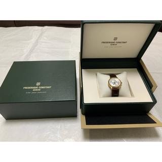 フレデリックコンスタント(FREDERIQUE CONSTANT)の【ほぼ新品】腕時計 レディース/FREDERIQUE CONSTANT(腕時計)