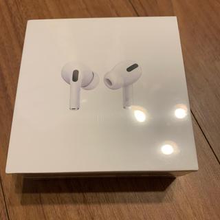アップル(Apple)のAirPods pro 新品未使用未開封 保証未開始(ヘッドフォン/イヤフォン)