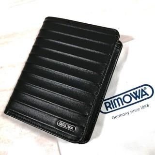 RIMOWA - 新品 RIMOWA フルレザー 二つ折り財布