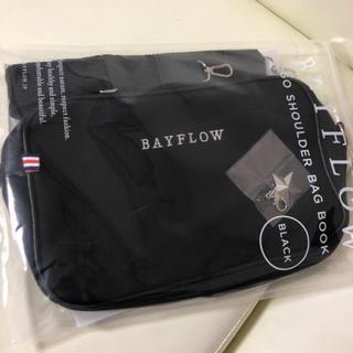 ベイフロー(BAYFLOW)の新品BAYFLOWショルダーバック黒(ショルダーバッグ)