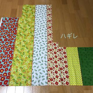 ハギレ パッチワーク調 シーチング(薄手)(生地/糸)