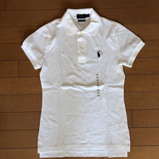 Ralph Lauren - 新品 ラルフローレン ポロシャツ 白 XS(Sサイズ相当)