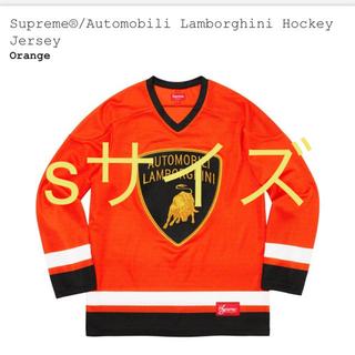 Supreme - Hockey Jersey supreme Lamborghini orange