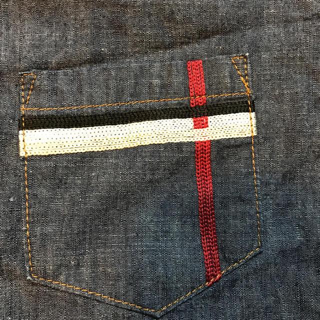 BURBERRY(バーバリー)のブラウス 半袖 バーバリー  120 超美品 ❗️ キッズ/ベビー/マタニティのキッズ服男の子用(90cm~)(Tシャツ/カットソー)の商品写真