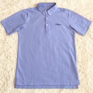 タイトリスト(Titleist)のタイトリスト TITLEIST ボタンダウン  半袖ポロシャツ メンズ サイズM(ウエア)