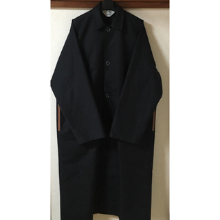SUNSEA - 新品未使用 20SS サイズ2 SUNSEA OVER COAT BLACK