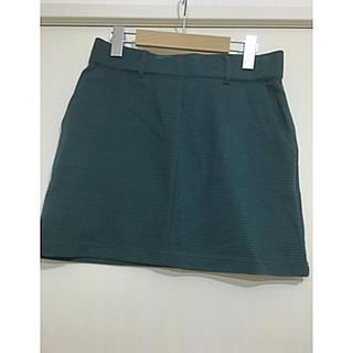 ローリーズファーム(LOWRYS FARM)のローリーズ☆グリーンタイトスカート(ミニスカート)