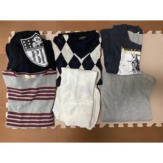 ビームス(BEAMS)のメンズ トップス まとめ売り BEAMSTシャツ、パーカー3点、ニット1点(Tシャツ/カットソー(七分/長袖))
