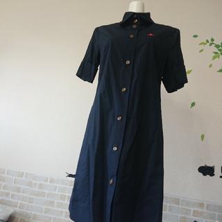 Vivienne Westwood - ヴィヴィアン ウエストウッド オーブ 刺繍 シャツ ワンピース クリーニング済