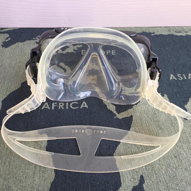 Aqua Lung(アクアラング)の【中古】ダイビング用ゴーグル スポーツ/アウトドアのスポーツ/アウトドア その他(マリン/スイミング)の商品写真