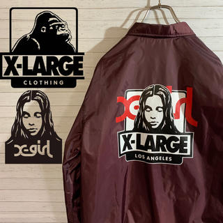 XLARGE - 【X-LARGE】完売品 X-LARGE×X-girl コラボ コーチジャケット