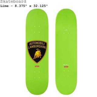Supreme - Supreme lamborghini skateboard Lime