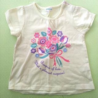 サンカンシオン(3can4on)の95㎝女の子Tシャツ夏物(Tシャツ/カットソー)