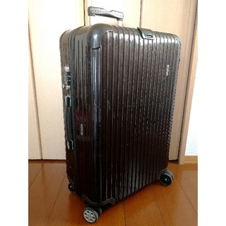 RIMOWA - RIMOWA サルサデラックス 4輪 80L位 TSAロック スーツケース
