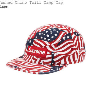 Supreme - Supreme chino twill camp cap flags