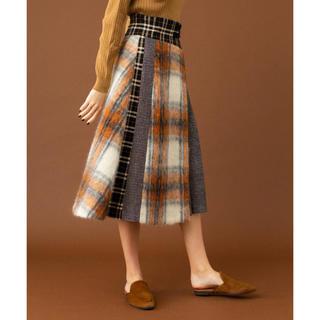 STUDIOUS - UNITED TOKYO シャギーコンビスカート