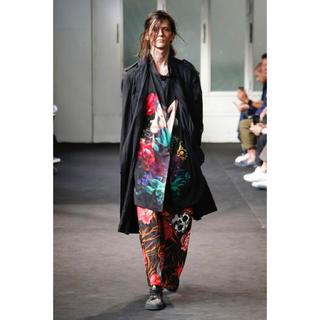 Yohji Yamamoto - ブラックスキャンダルヨウジヤマモト 19ss  花と女 ロングシャツ size2
