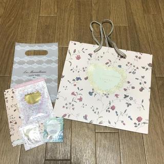 レメルヴェイユーズラデュレ(Les Merveilleuses LADUREE)の💗ラデュレ 紙袋&サンプルset💗(ショップ袋)