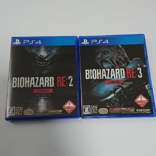 PlayStation4 - バイオハザード RE2&RE3 セット