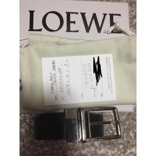 ロエベ(LOEWE)の値下げ!Loewe ベルト メンズ フォーマル リバーシブル(ベルト)