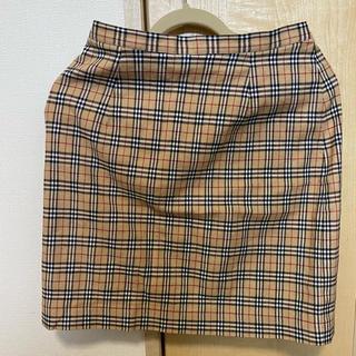 BURBERRY BLUE LABEL - Burberry ミニスカート