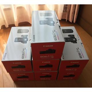 キヤノン(Canon)のCanon eos kiss X9i カメラ ダブルズームキット×7台セット(デジタル一眼)