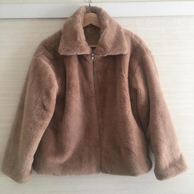 dholic(ディーホリック)のu dresser 2way ファーコート レディースのジャケット/アウター(毛皮/ファーコート)の商品写真