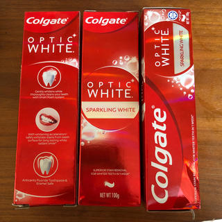 Colgate OPTIC WHITESPARKLING  ホワイトニング