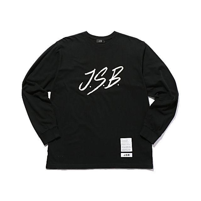 三代目 J Soul Brothers(サンダイメジェイソウルブラザーズ)のjsb正規品 クラックプリント 長袖Tシャツ Mサイズ メンズのトップス(Tシャツ/カットソー(七分/長袖))の商品写真
