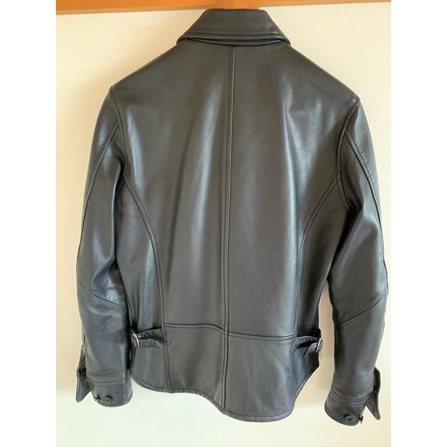 AMERICAN RAG CIE(アメリカンラグシー)のシングルライダースジャケット シープレザー メンズのジャケット/アウター(レザージャケット)の商品写真