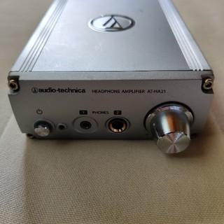 オーディオテクニカ(audio-technica)のオーディオテクニカ ヘッドホンアンプ AT-HA21(アンプ)