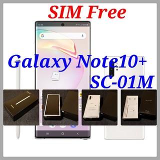 SAMSUNG - 【SIMフリー/新品未使用】ドコモ Galaxy Note10+ SC-01M