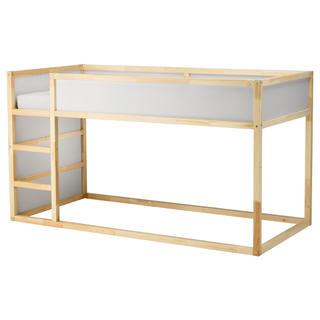 イケア(IKEA)のIKEA kura 二段ベッド(ロフトベッド/システムベッド)