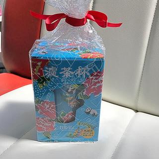 カルディ(KALDI)のJasmine様専用  カルディ 茶コシ付きマグカップ 青(マグカップ)