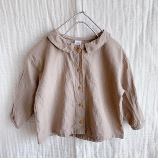 リネンシャツ 80cm