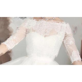 ウエディングドレス用 ボレロ ウェディング