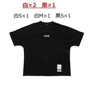 三代目 J Soul Brothers - jsb 正規品 刺繍ロゴ 長袖Tシャツ Mサイズ