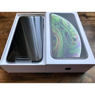 iPhone - iPhone Xs 256GB 新品未使用 スペースグレー SIMフリー