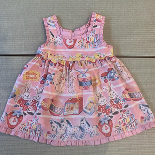 Shirley Temple - 【Shirley Temple】シャーリーテンプル 子供服 ジャンバースカート