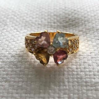 Drawer - 美品 オーダーメイド メレダイヤモンドリング指輪 ゴールド18金