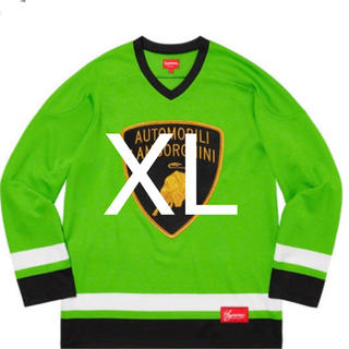 Supreme - (XL) Supreme Lamborghini  Hockey Jersey