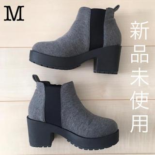 しまむら - Closshi ショートブーツ サイドコア M 春