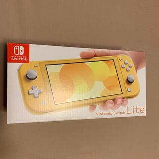 ニンテンドースイッチ(Nintendo Switch)のNintendo Switch lite イエロー 即日発送(携帯用ゲーム機本体)