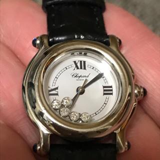 ショパール(Chopard)のショパール ハッピーダイヤ 腕時計(腕時計)