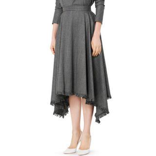 ルシェルブルー(LE CIEL BLEU)のルシェルブルー アシンメトリースカート(ロングスカート)