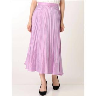 MERCURYDUO - シャイニープリーツロングスカート