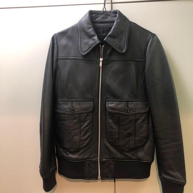 HYSTERIC GLAMOUR(ヒステリックグラマー)のヒステリックグラマー レザージャケット メンズのジャケット/アウター(ライダースジャケット)の商品写真